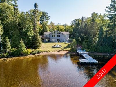 Big Clam Lake Waterfront Home for sale:  7 bedroom 3,030 sq.ft. (Listed 2019-08-21)