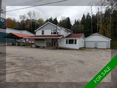Village of Burk's Falls OFFICE & MULTI RESIDENTIAL for sale:  2 bedroom  (Listed 2021-01-29)